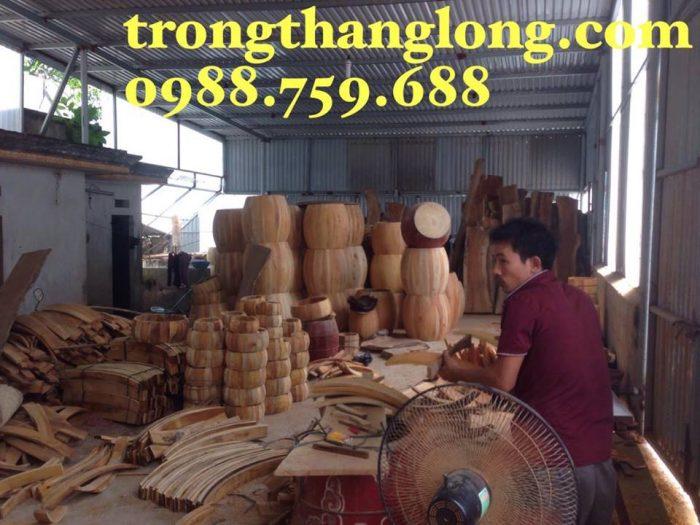 xưởng sản xuất trống gỗ