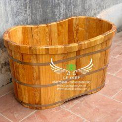 bán thùng tắm gỗ mini