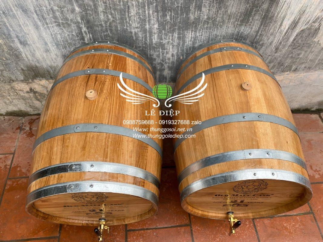 bom rượu gỗ sồi giá rẻ