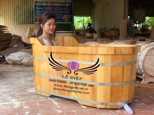 bán bồn tắm bằng gỗ cao cấp