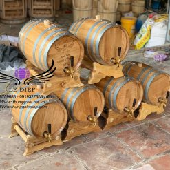 thùng rượu gỗ sồi 20l