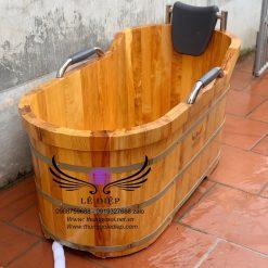 thùng tắm pơ mu nhật