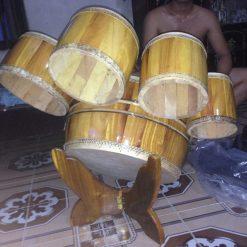 trống hát văn gỗ mít