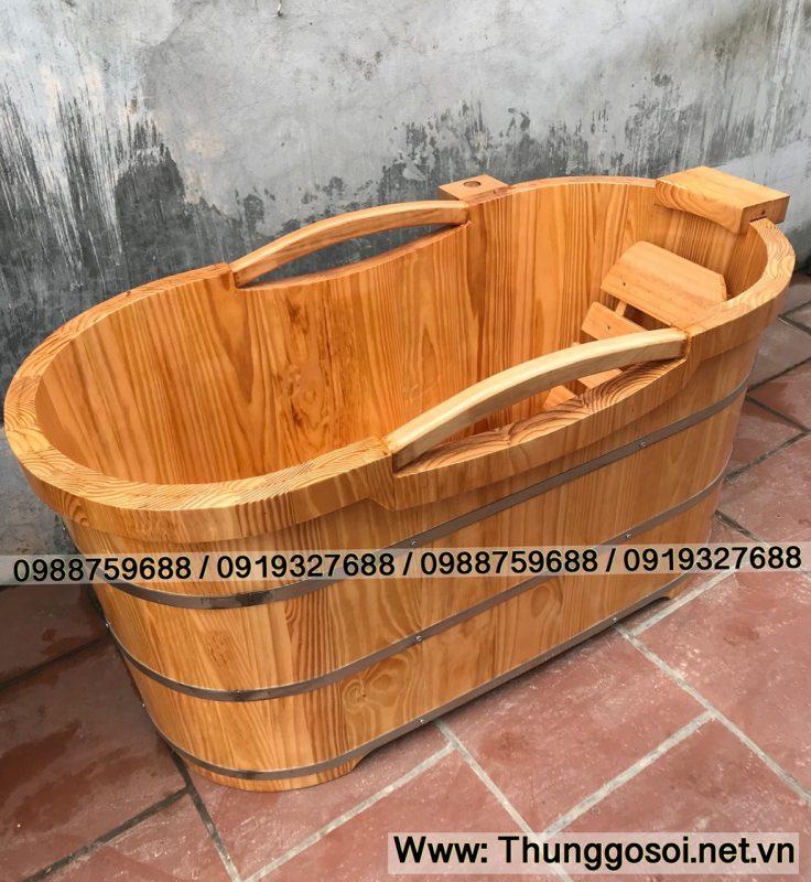 bán thùng tắm gỗ giá rẻ