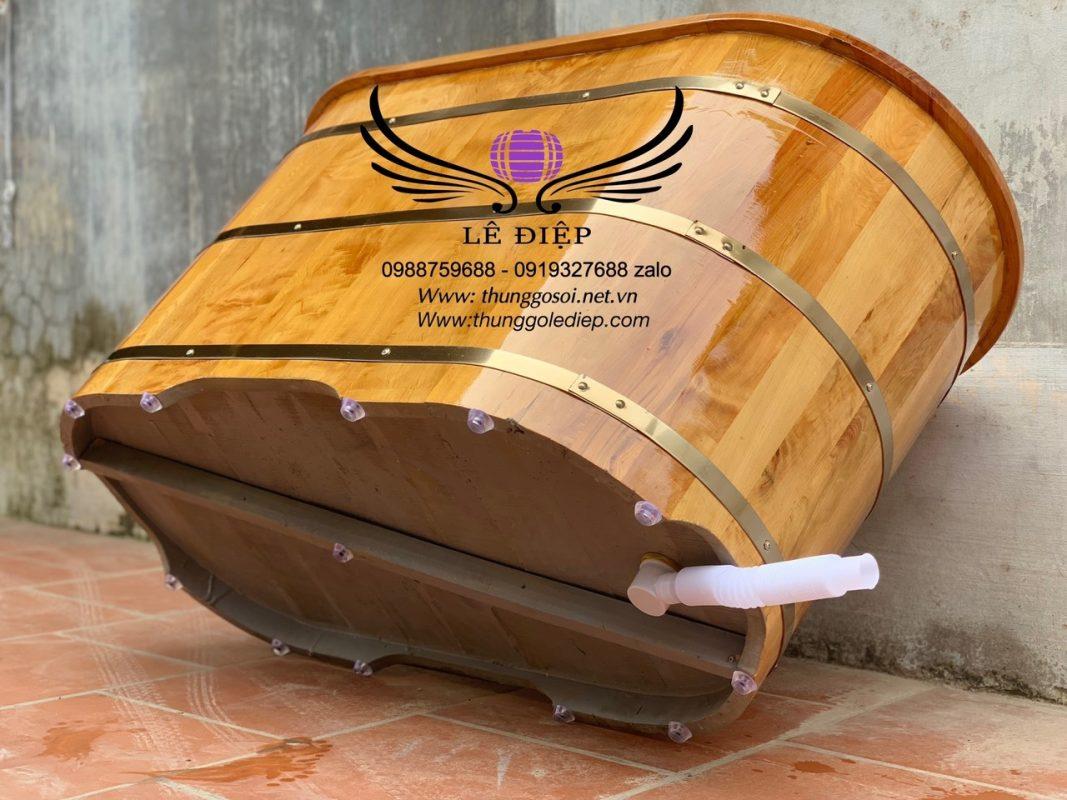 đáy thùng gỗ pơmu