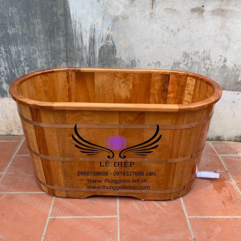 bồn tắm gỗ pơ mu việt nam