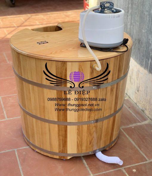 bán bồn gỗ sồi xông