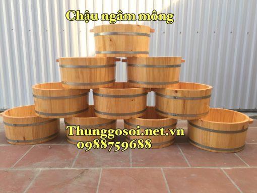 bán chậu gỗ ngâm mông