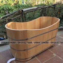 bán thùng tắm gỗ sồi giá rẻ