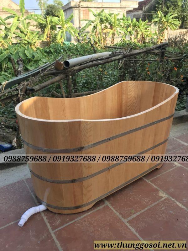bán bồn tắm bằng gỗ giá rẻ