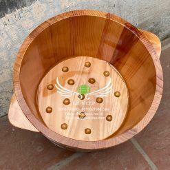 bồn gỗ ngâm chân