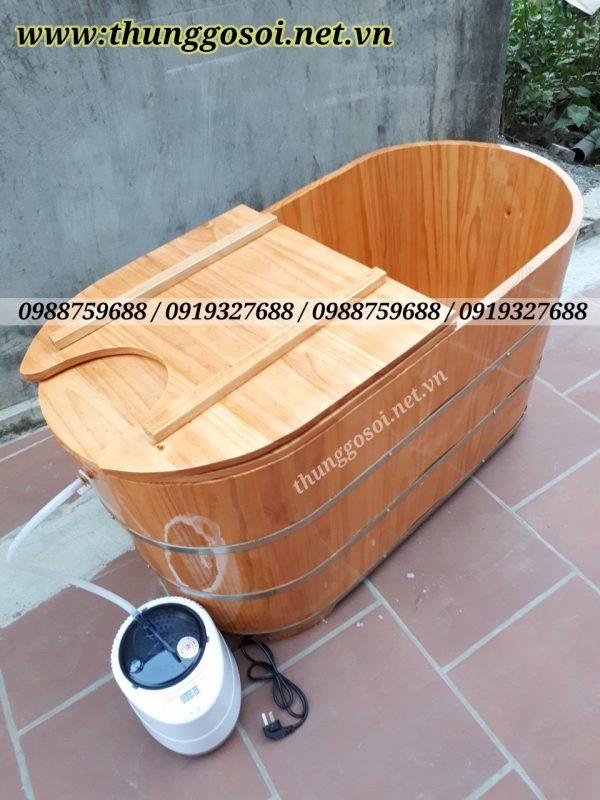 bồn gỗ xông hơi giá rẻ