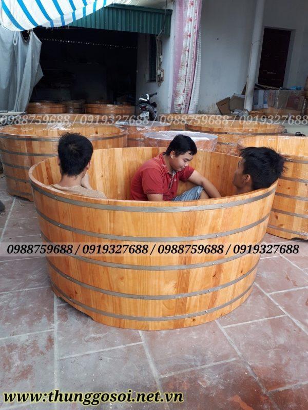 bồn tắm gỗ cho khu nghỉ dưỡng