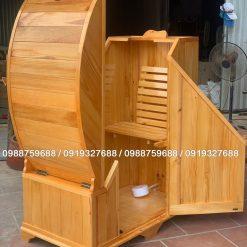 bồn xông hơi gỗ thông