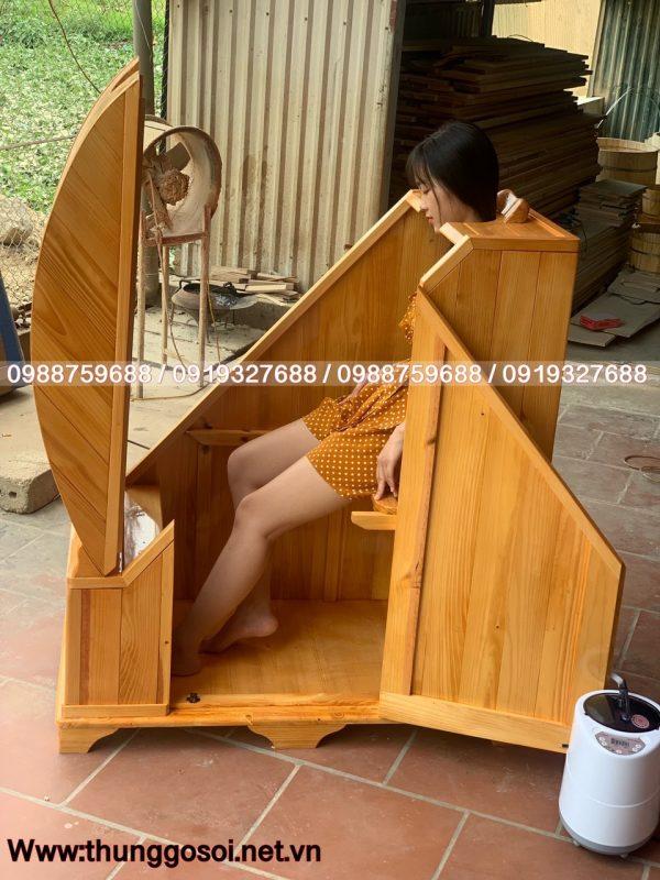 cabin xông hơi