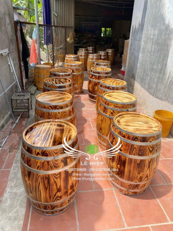 thùng gỗ trang trí giá rẻ