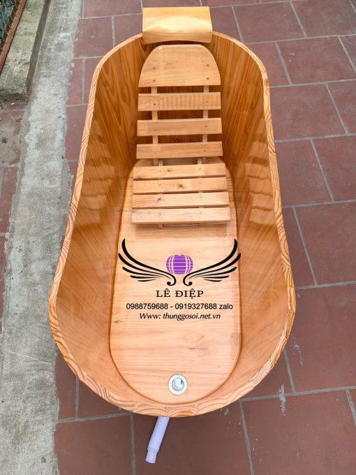 thùng tắm gỗ nhập khẩu