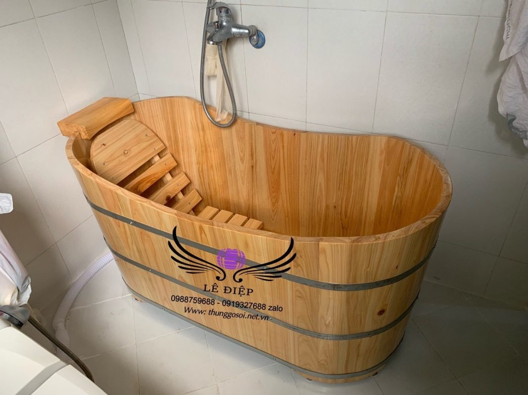 thùng tắm ovan cao cấp