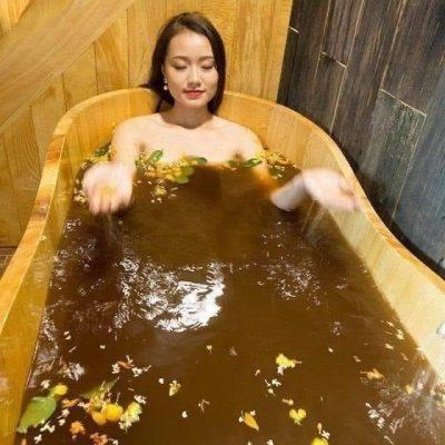 bán bồn tắm bằng gỗ pơ mu