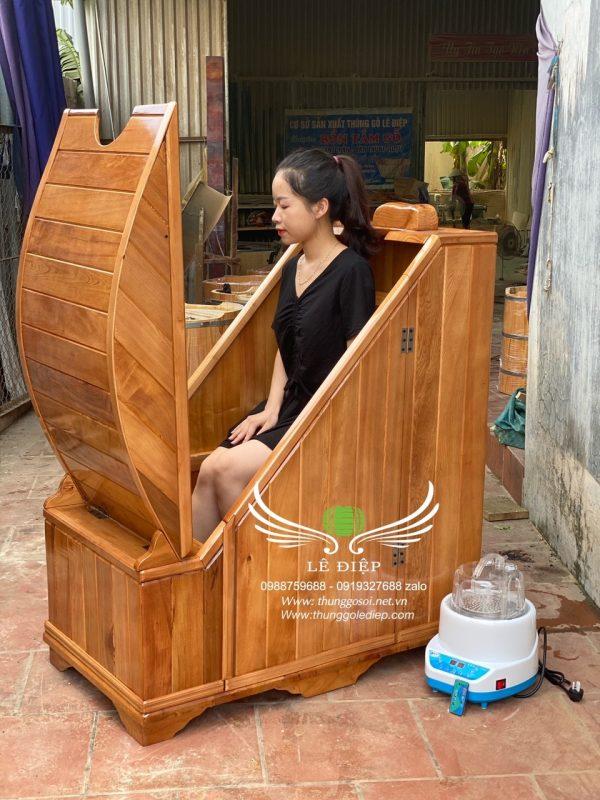bán thùng xông hơi gỗ pơmu