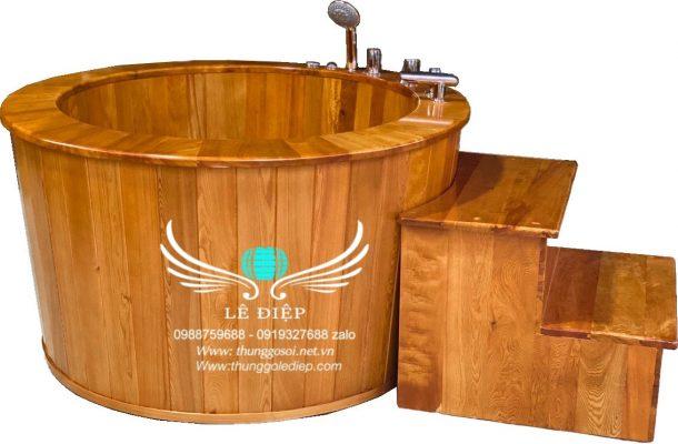 bồn gỗ sục massage cao cấp